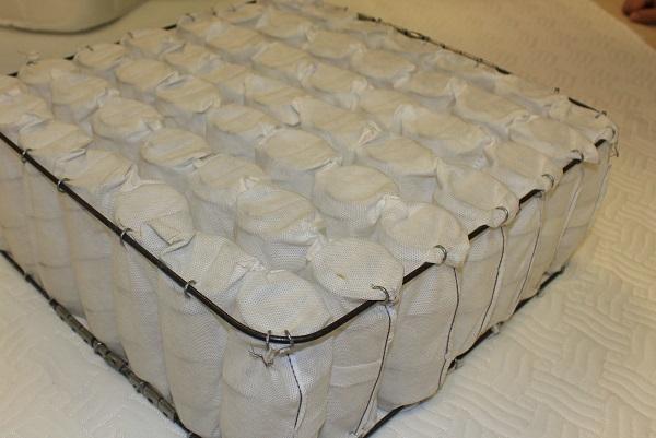 تشک سوپر طبی فنری منفصل پاکتی